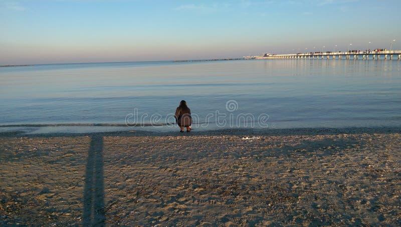 Black Sea shore royalty free stock photos
