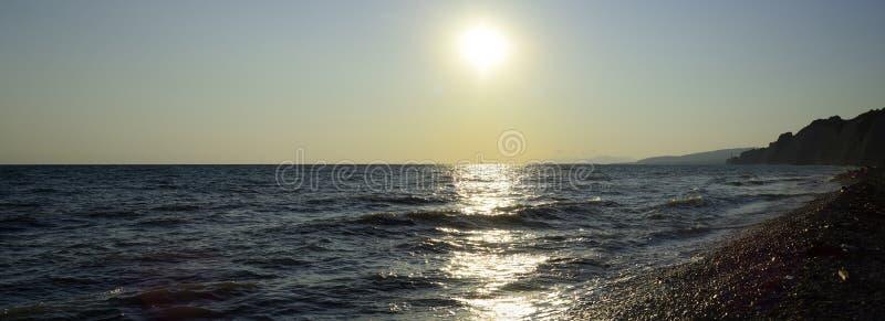 Black Sea wave Sommar arkivbild