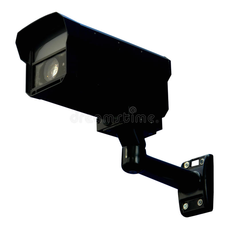 Download Black security monitor stock photo. Image of check, access - 12064856