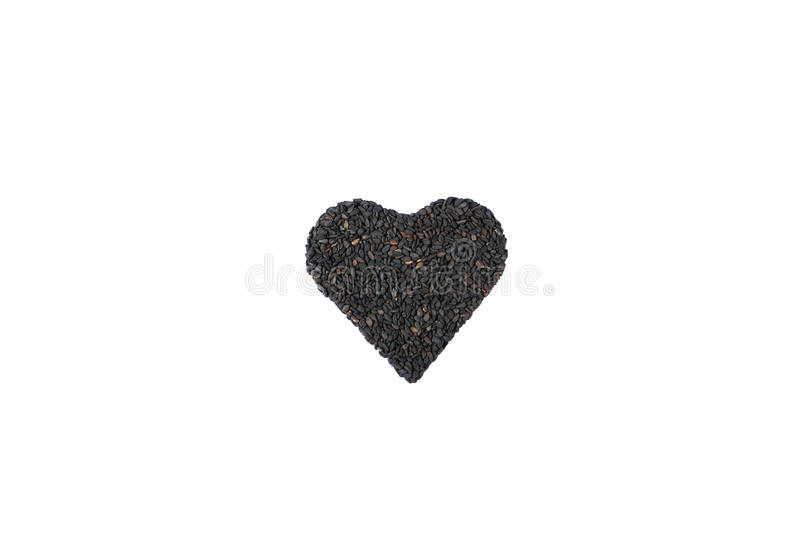 Download Black sesame stock image. Image of dried, spice, background - 26293811
