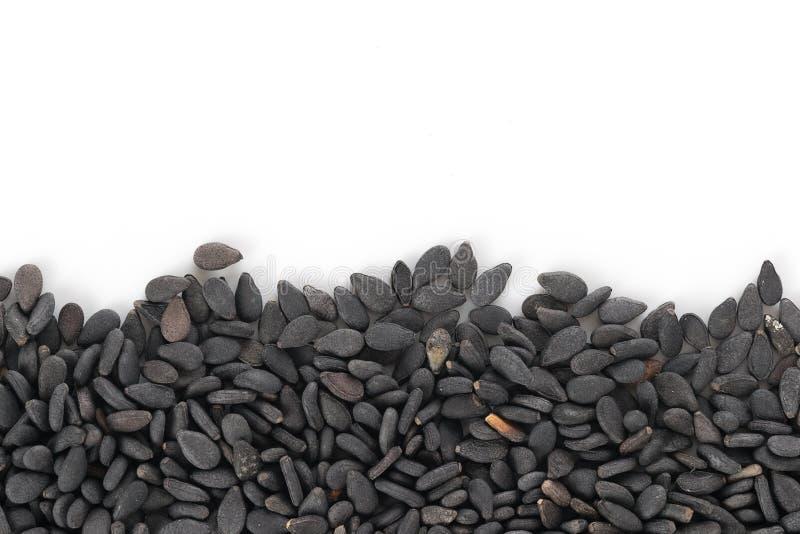 Black Sesame seeds background royalty free stock photo