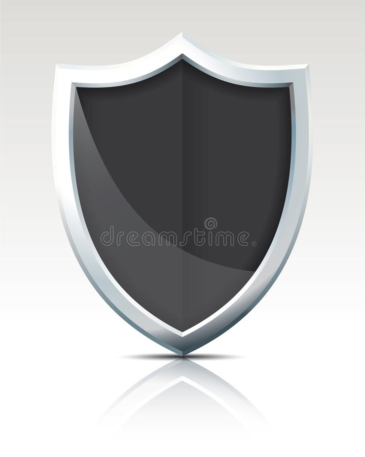 Free Black Shield Stock Image - 106738211