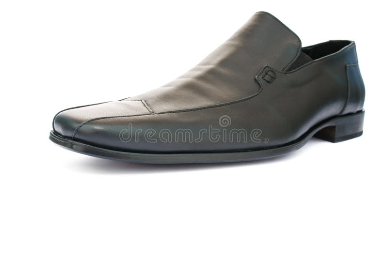 Black shoe royalty free stock image
