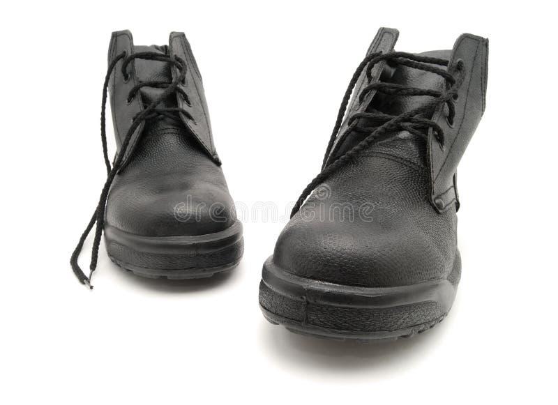 Black shoe royalty free stock images
