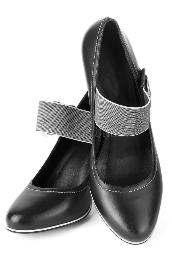 Download Black shoes stock photo. Image of modern, desire, open - 23822614