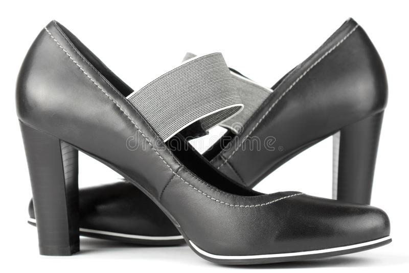 Download Black shoes stock image. Image of open, feminine, classic - 23889335
