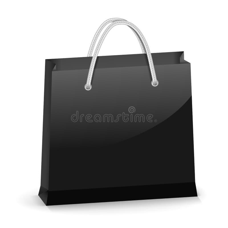 Free Black Shopping Bag Stock Image - 32499991