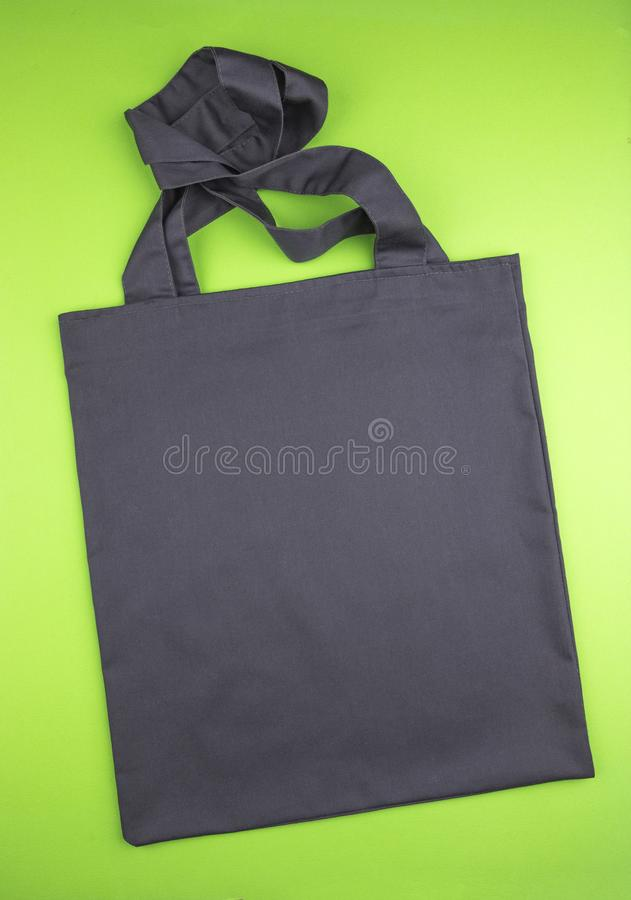 Black shopping bag stock images