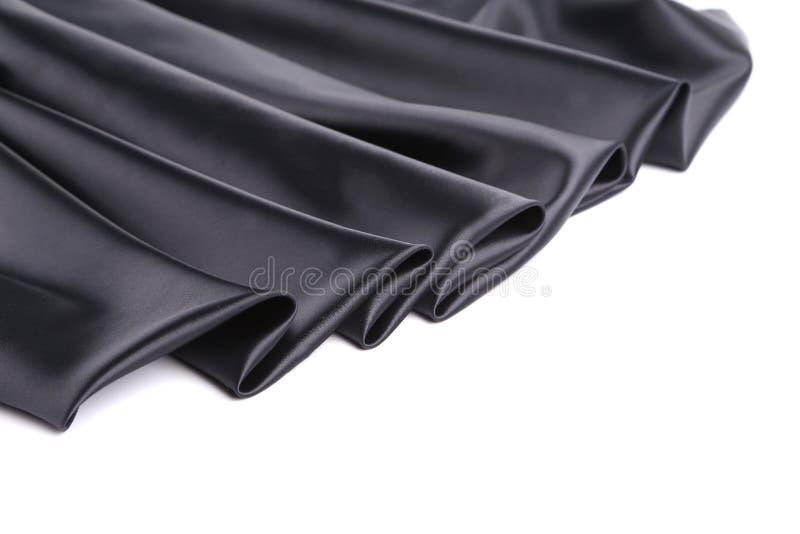 Download Black silk drapery. stock photo. Image of ribbon, elegant - 41529630