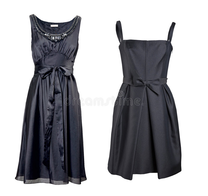 Free Black Silk Dress Royalty Free Stock Image - 8540546