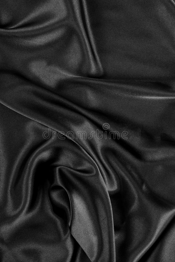 Download Black Silk Satin Background Stock Image - Image: 10845395
