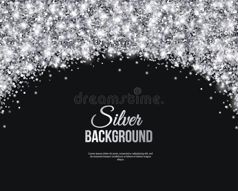 black and silver invitation templates