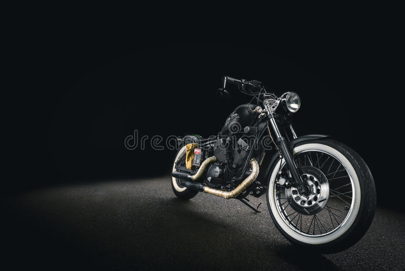 Black And Silver Cruiser Motorcycle Free Public Domain Cc0 Image