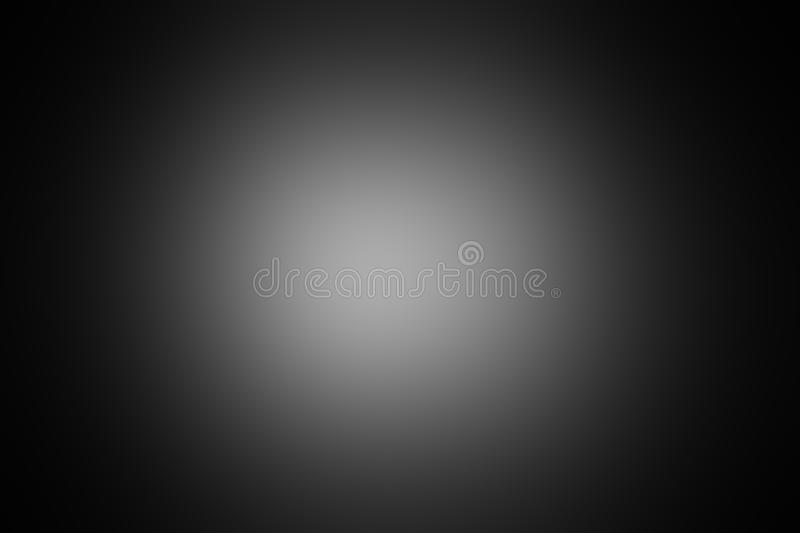 The black  and silver are light gray with white the gradient . The black  and silver are light gray with white the gradient is the Surface with templates metal royalty free stock images