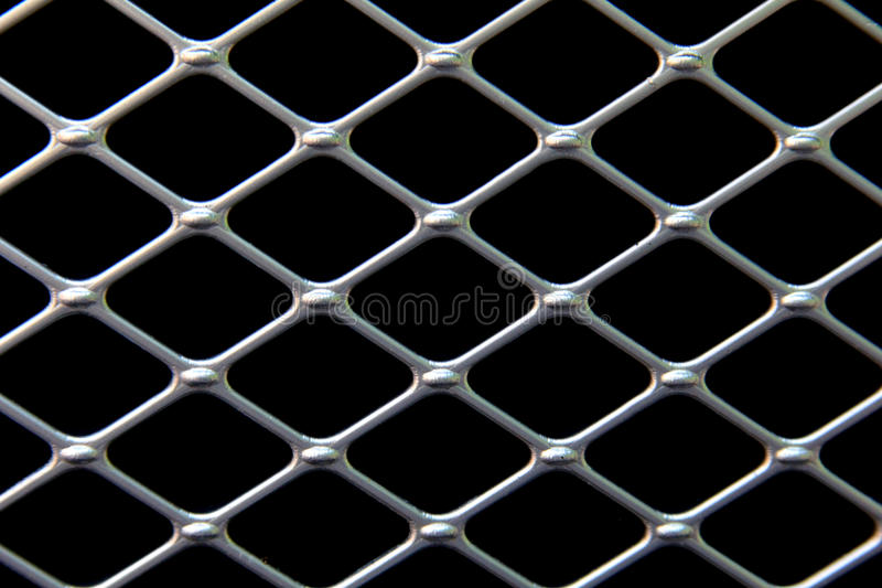 Black and Silver Pattern. A black and silver diagonal pattern royalty free stock photography