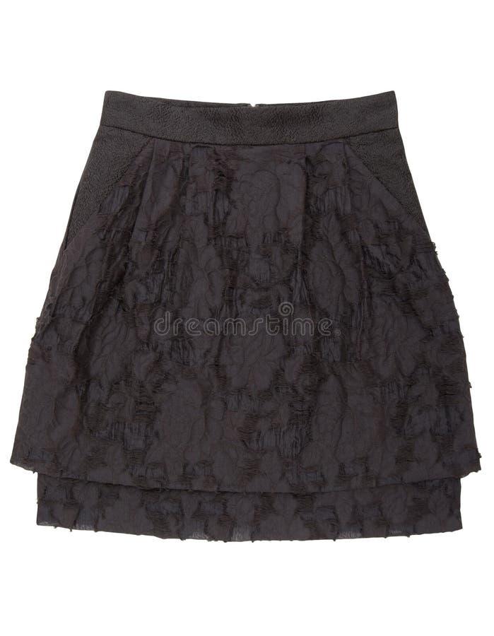 Black skirt royalty free stock images