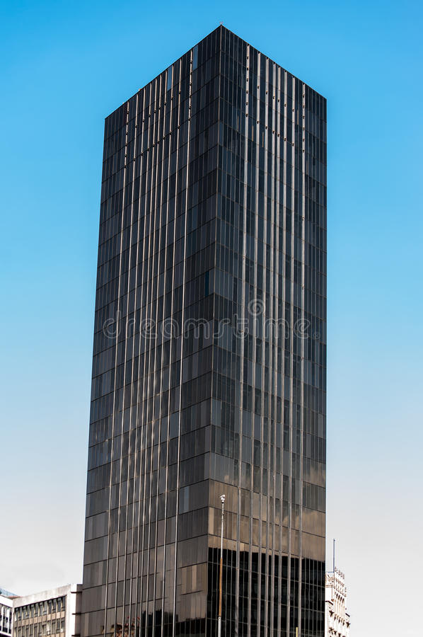Black Skyscraper stock photo