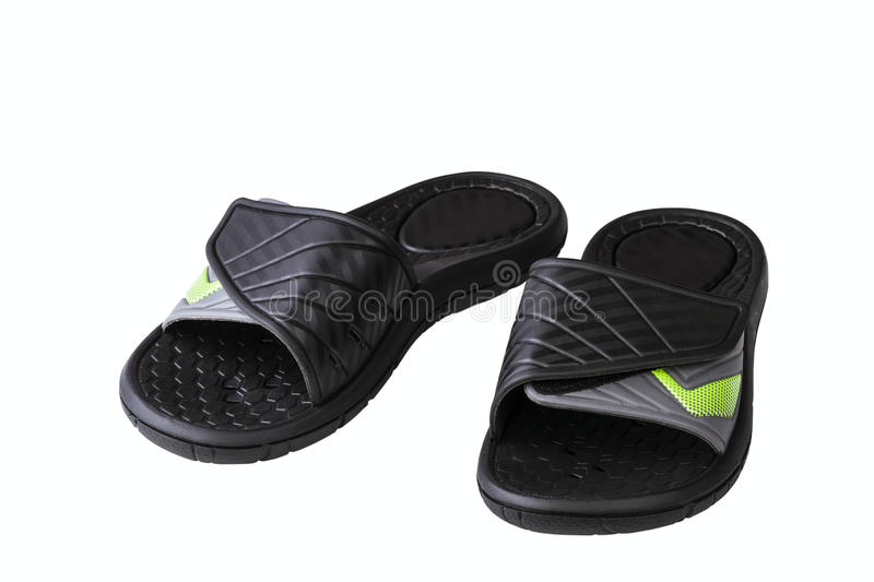 Download Black slide stock photo. Image of strap, new, outsole - 36143072