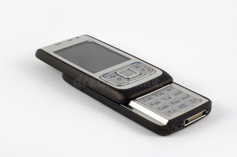 Download Black slider phone stock photo. Image of electronic, phone - 7211490