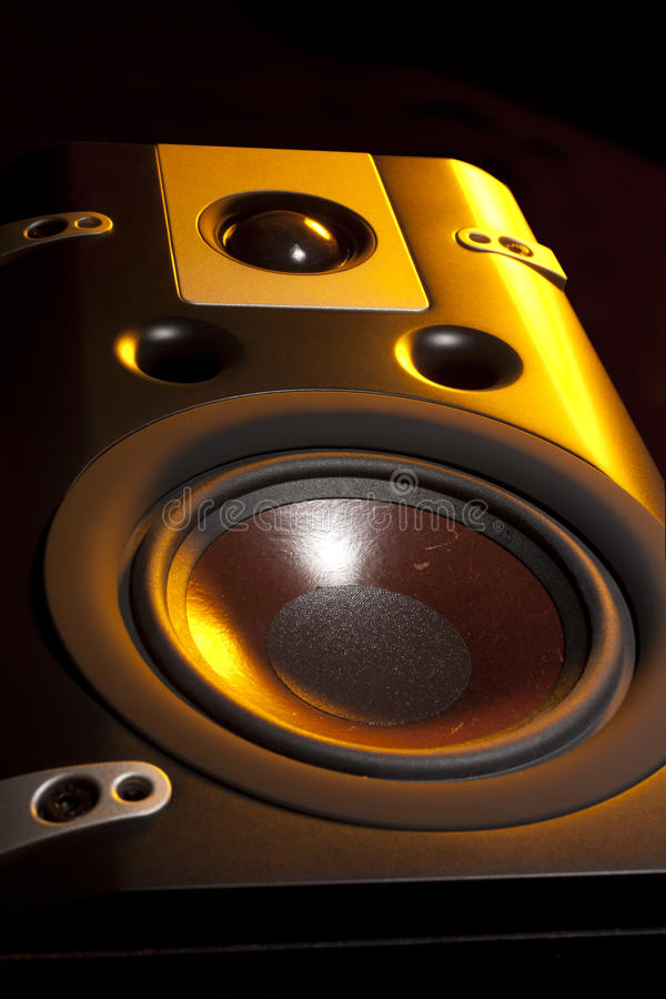 Download Black speakers stock photo. Image of bass, electrical - 22300084