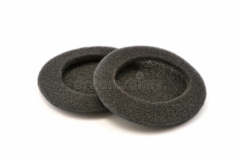 Black Sponges Stock Images
