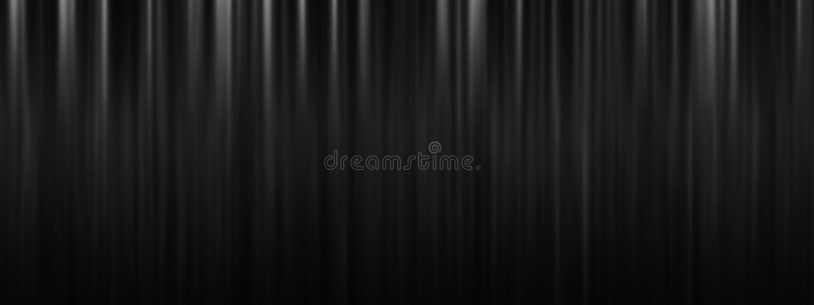 Black stage theatre curtain background with copy space royalty free stock photography