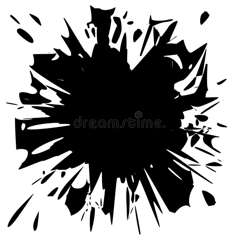 Free Black Stain . Royalty Free Stock Images - 42388999