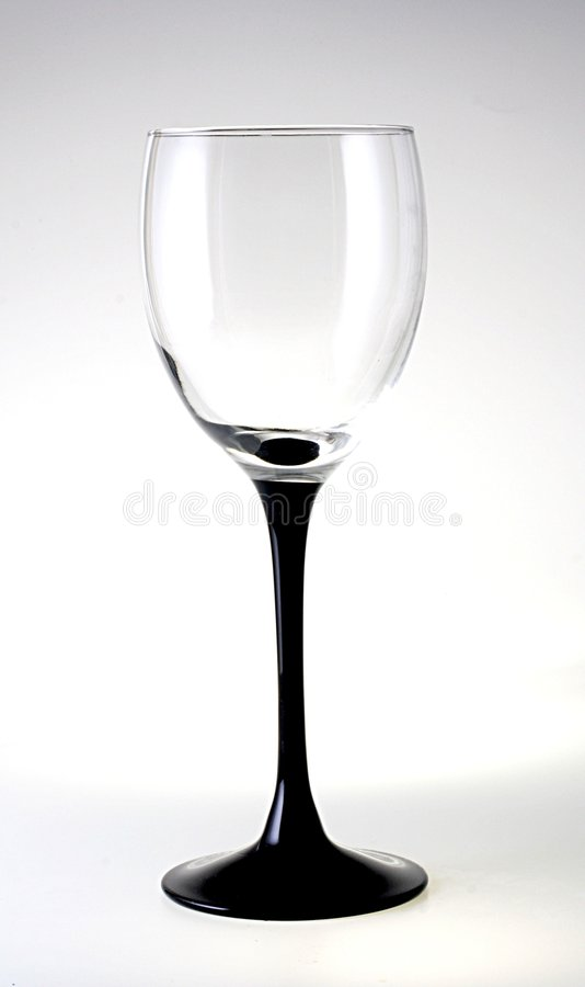 Download Black Stem Glass stock image. Image of reflection, isolated - 230741