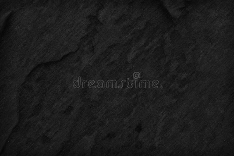 Black stone background texture. Blank for design.  royalty free stock photography