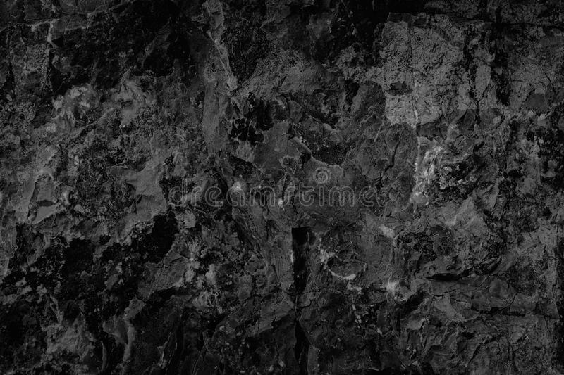 Black stone background texture, cracked texture used design for. Background royalty free stock photos
