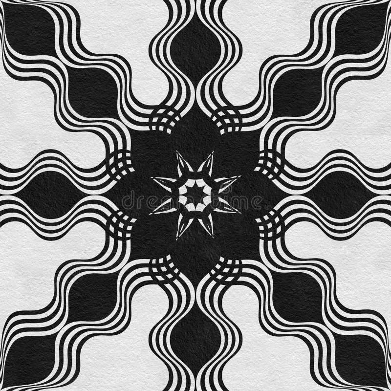 Black stone marble decor stock image