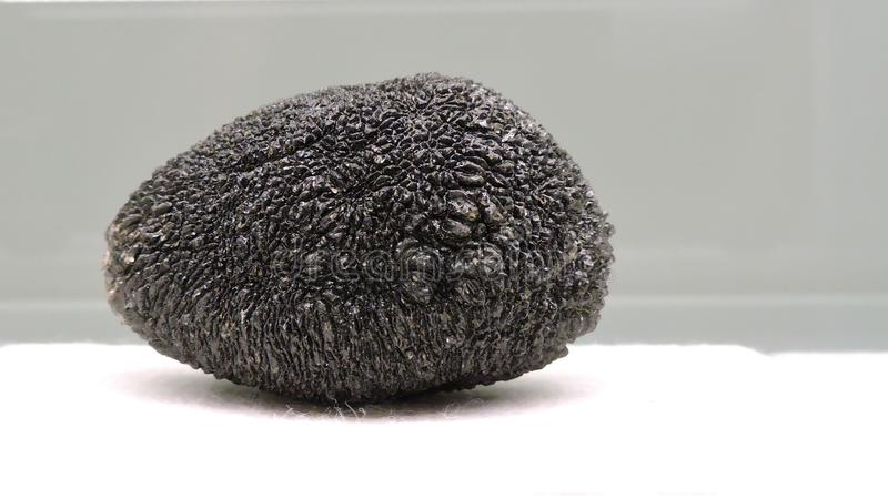 Black stone stock image
