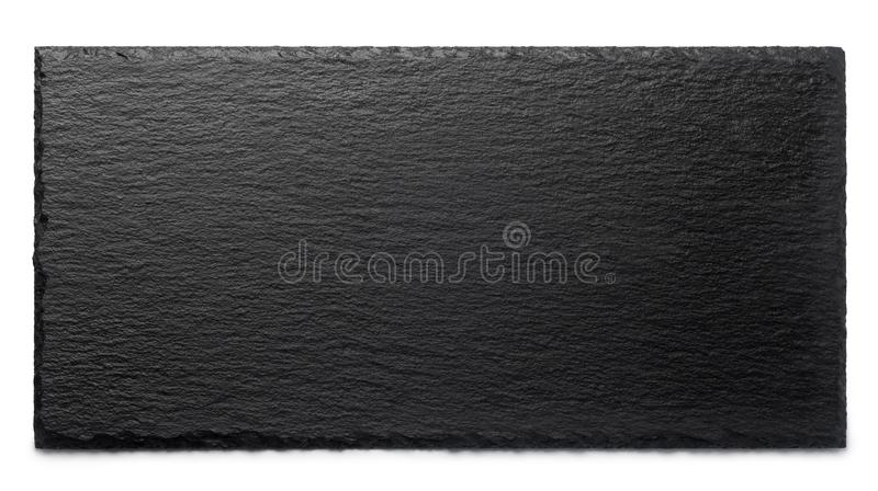 black stone plate stock image image of view white 119667035