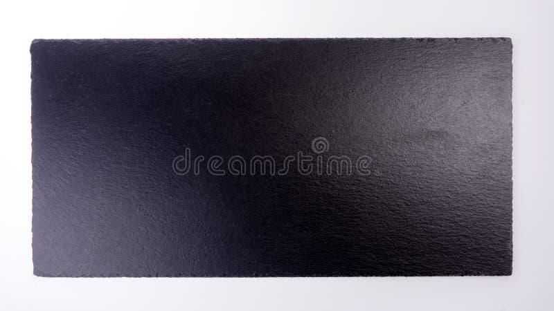 Black stone or slate background, chalkboard isolated stock images