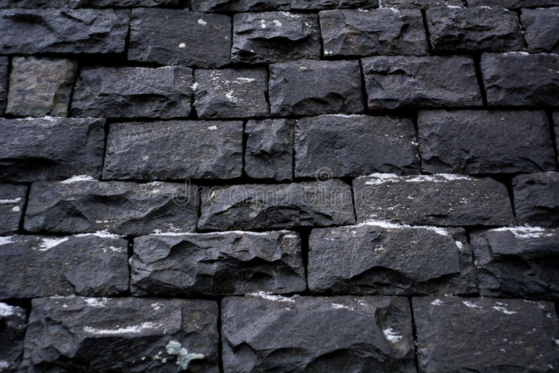 black stone wall texture. Download Black Stone Wall Background Texture Stock Photo - Image Of Hard, Building: 64485362 I