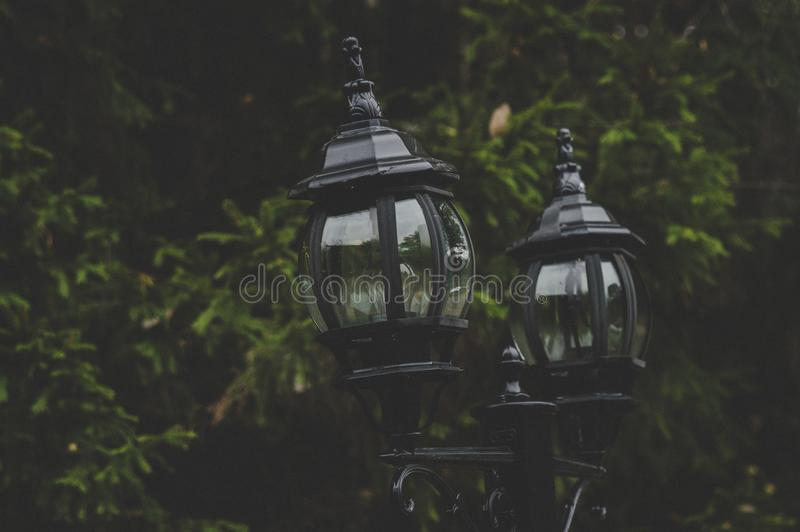 Black Street Lamps Free Public Domain Cc0 Image
