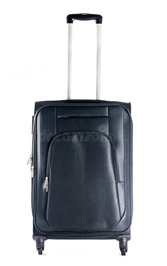 Download Black suitcases isolate stock photo. Image of vintage - 34498360
