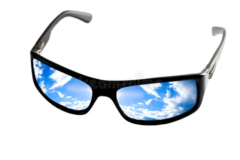 Download Black sunglasses stock photo. Image of glamour, concept - 23804394