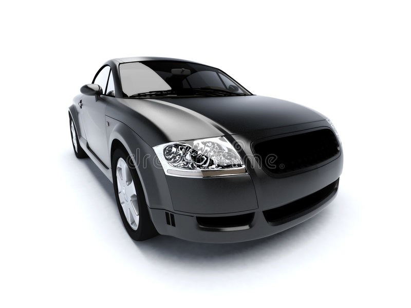 Black superlux car royalty free stock images