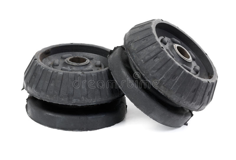 Black support bearing shock absorber car stock photography