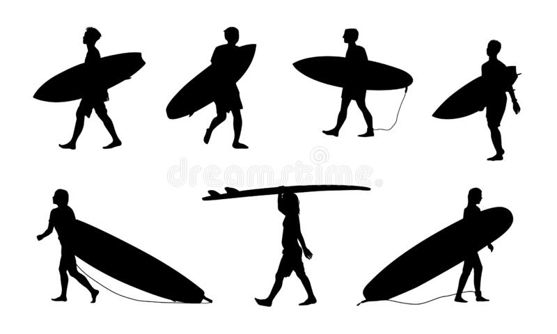 Sports SURFING SILHOUETTE Novelty Beach Fun Themed Mens T-Shirt Surf
