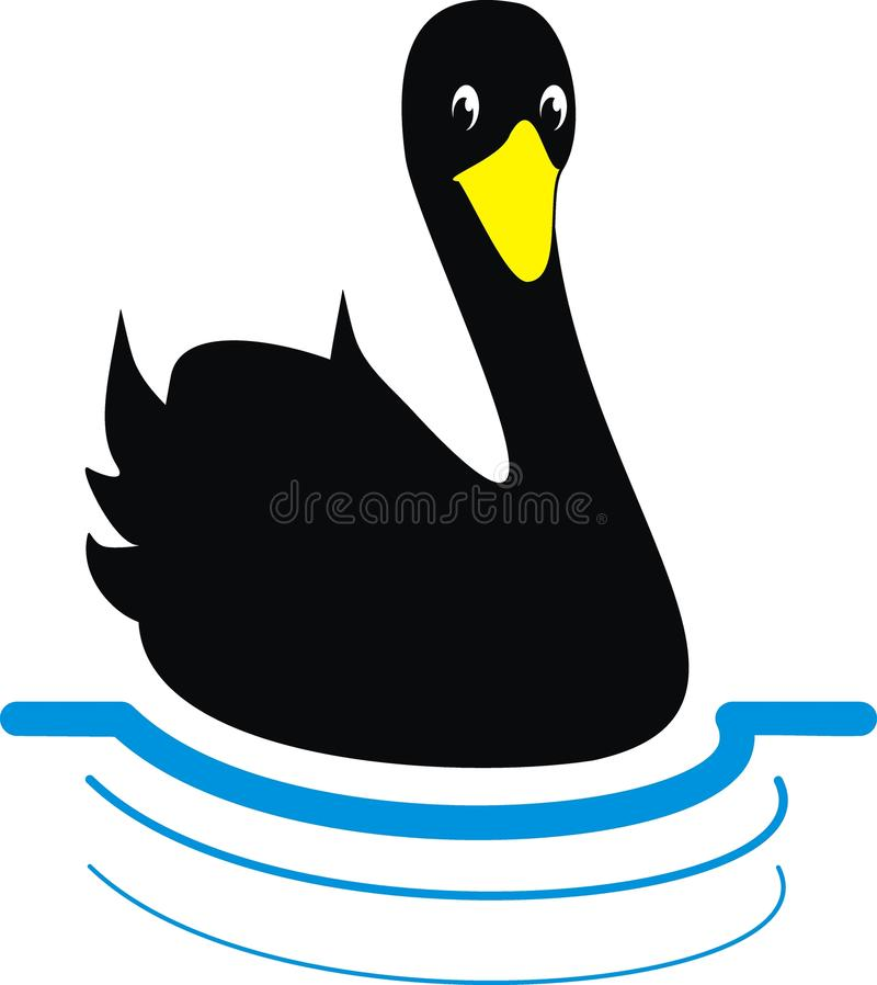 Free Black Swan Stock Images - 14175654