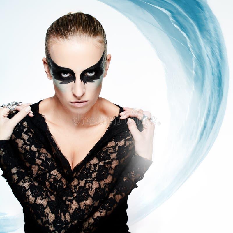 Download Black swan stock photo. Image of flutter, lady, light - 19000276