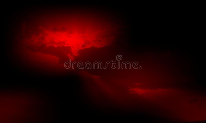 black tła abstrakcyjna czerwone , tapeta ilustracja wektor