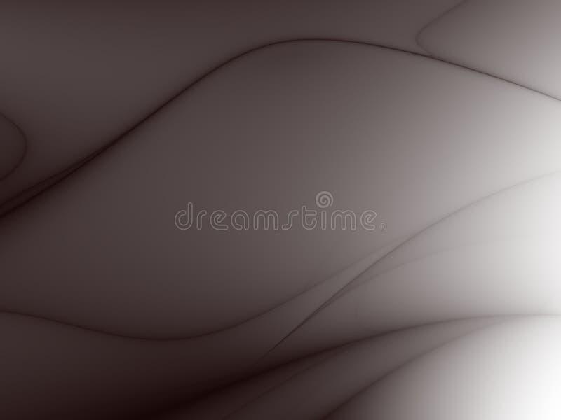 black tła krzywej ilustracja wektor
