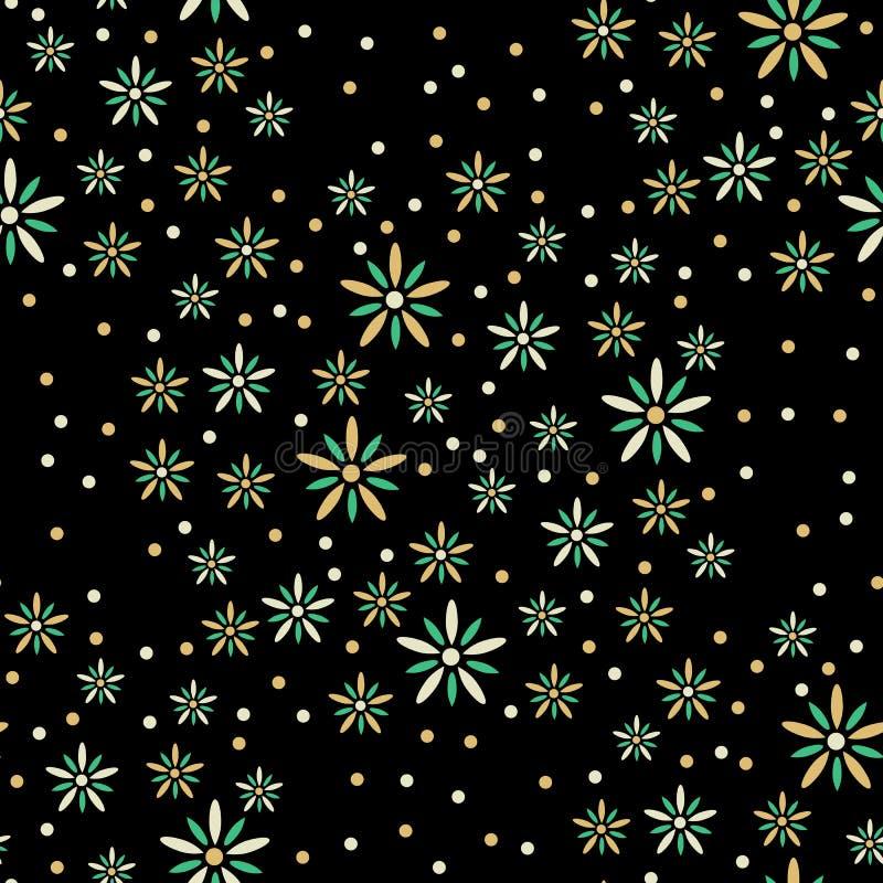 black tła kwiaty obraz royalty free