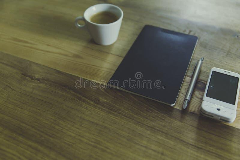 Black Table Computer Beside White Mug Free Public Domain Cc0 Image