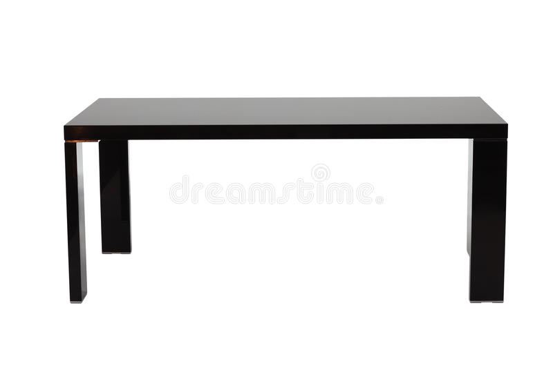 Black table stock photography