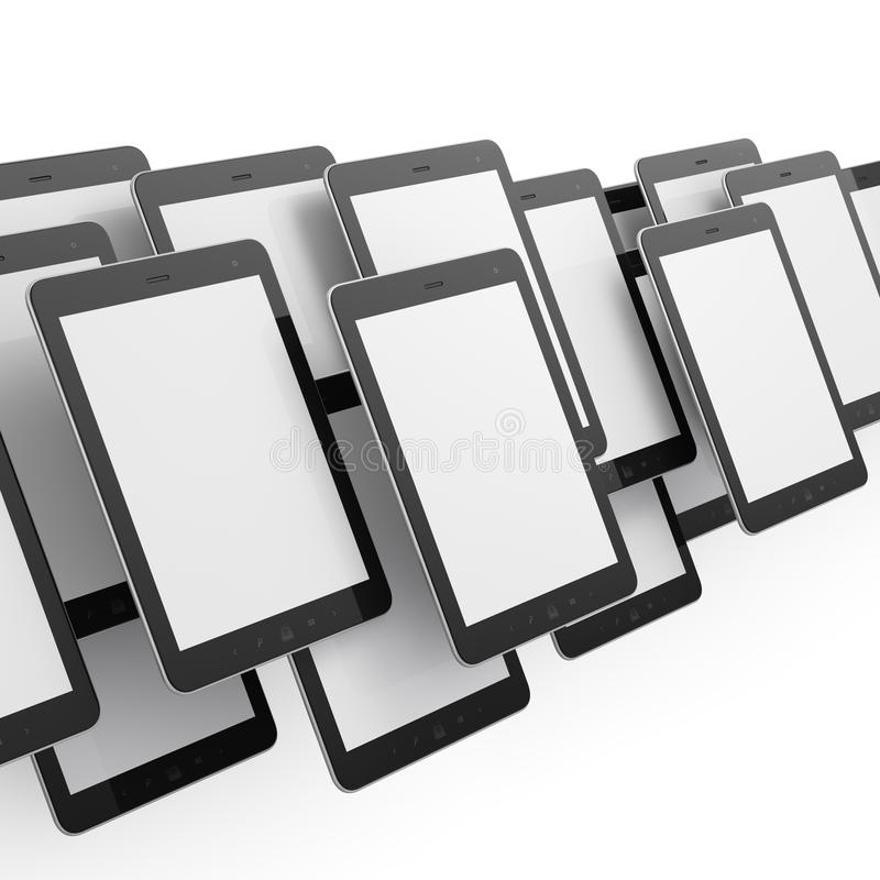 Download Black Tablets On White Background Royalty Free Stock Image - Image: 25962916