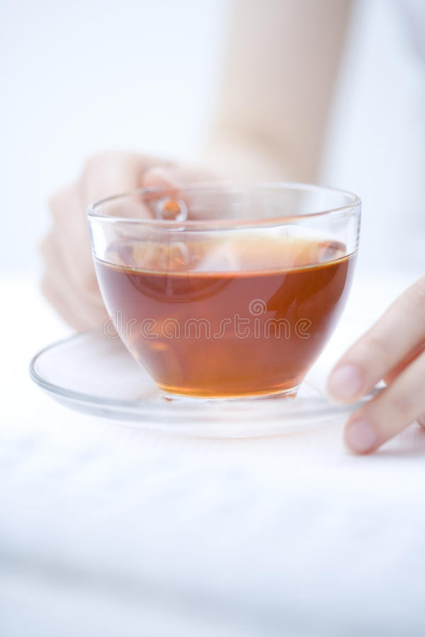 Download Black Tea stock photo. Image of hand, clean, moisture - 10152878